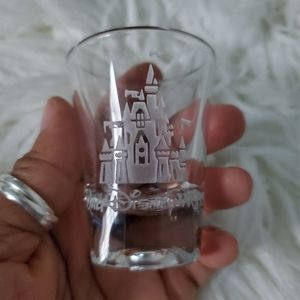 Disney Etched Shot Glass